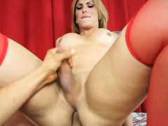 Big Tits Blonde Tranny Pissing Blowjob And Anal Fucking