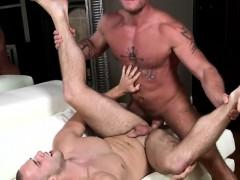 Gay Hunk Banging A Peeping Tom Jock Closeup