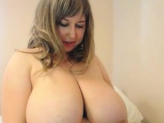 slut-with-large-breasts-teasing