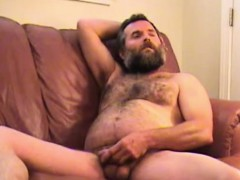 amateur-mature-man-tim-jacks-off-and-cums