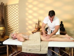 Very Tricky Spa Of Hungry Masseur