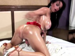 brunette-tranny-fingers-her-asshole-and-squirts-big-cumload