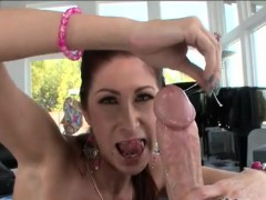 Busty bitch Tiffany Mynx asshole wrecked by nostercock