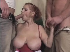 chunky-granny-sanwiched-in-a-3some