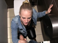 naughty-hotties net - kinky blonde public restaurant tease t