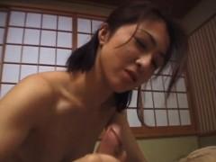 Kayoko Has Crack Rubbed And Nailed