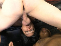 two-black-chicks-getting-face-fucked-brutally-hard-on-sofa