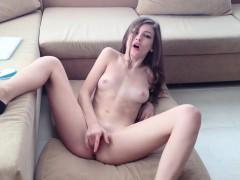 lady-masturbates-and-undresses
