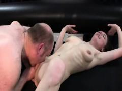Skinny Teen Slut Fist Fucked By A Fat Old Pervert
