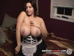 tracy-huge-boob-babe-as-a-maid-oiling-big-naturals