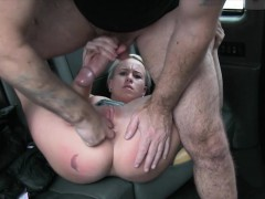 Hot Amateur Babe Gets Railed By Horny Driver In The Cab Online