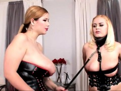 graceful bdsm action with fetish babes