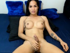 fit-tranny-strokes-her-small-dick