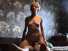 Euro Mother Gets Banged Hard In The Home