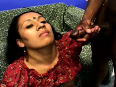indian chick gets her bush banged and two dicks cumming on her face indian aunty video