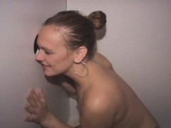 Amateur Wife Sucking Dick And Facial At Glory Hole