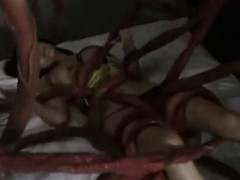 tentacles-attacked-girl-in-her-bed