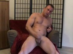 horny-dude-angelo-wanks-his-cock-until-jizz-exploded