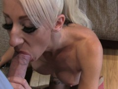 fakeagentuk petite blonde uk escort takes huge big