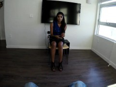 spy pov — test run for hot latina pussy