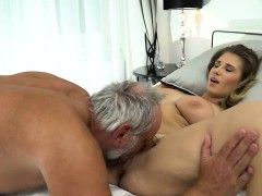 19 yo aida swinger vagina and ass eaten and fucked by grandpa