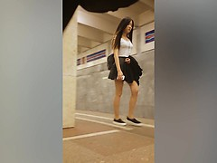 sexy streetwalkers are stalked by a peeping tom with a spyc [Full] [Porn] [Video XXX]