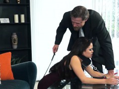 blair summers gets punished by her bf for being a real girl