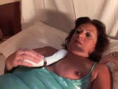 Horny Mature Masturbating With Sex Toys