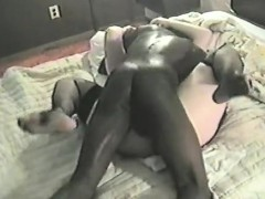 cute black man with redhead milf ripping her cunt with