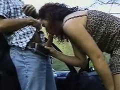 cute woman fucked within the road