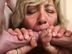 Hot Mom Threesome With Teen Thiefs