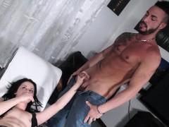 castingallaitaliana – beautiful brunette in italian casting Hardcore