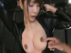 submissive-oriental-babe-in-a-black-latex-outfit-exposes-he