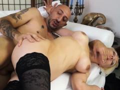 CastingAllaItaliana - Blonde newbie's anal during a casting