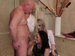 cfnm brit domina cumshot