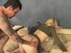 Military Chick Analed Hard