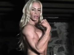 muscular female bodybuilder jill jaxen