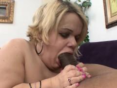 buxom-blonde-midget-stella-sucking-and-stroking-a-massive-black-pole