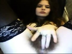 a furry 18-year old girl with muffin on cam