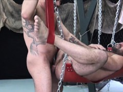 suspended-bear-raw-assfucked-after-rimmed
