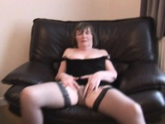 hairy-granny-in-stockings-spreading