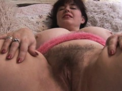 busty-hairy-mature-babe-teasing
