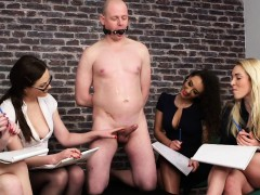 cfnm-femdoms-humiliating-ballgagged-dude