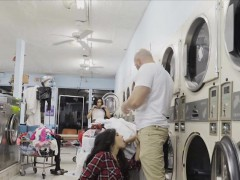 Got Busted And Fucked At Laundromat