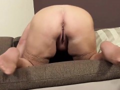 Nasty Czech Chick Gapes Her Spread Cunt To The Strange