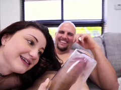 Jmac Screws Hailey Shaved Stretched Pussy
