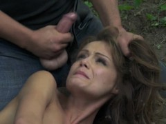 tiedup-submissive-babe-pounded-outdoors