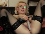 European mature mom playing with h Shirly from 1fuckdatecom