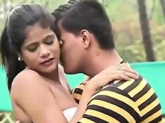Couple Doing Romance In Public Park For More Watch The Video