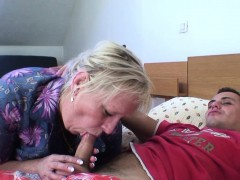 Old Granny Is Banged By An Young Dude